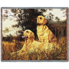 Golden Retriever Throw Blanket | Pure Country | PC1128T