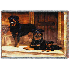 Rottweiler Throw Blanket | Pure Country | PC1146T