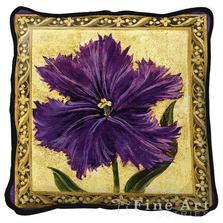 Tulip Unveiled I Throw Pillow   Fine Art Tapestries   pc1721P