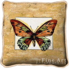 Butterfly Dragonfly II Throw Pillow | Pure Country | pc3124P