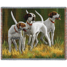 First Light Hounds Throw Blanket | Pure Country | PC3293T