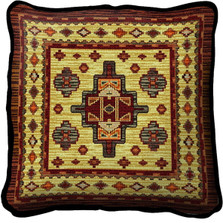 Acoma Sunset Throw Pillow   Pure Country   pc3902p