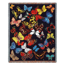 Butterfly Throw Blanket Flutterbies | Pure Country | PC712-T