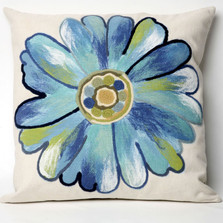 Daisy Indoor Outdoor Throw Pillow | Trans Ocean | TOG3149-04