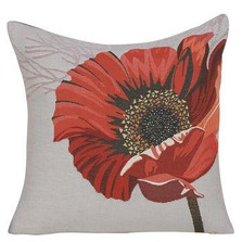 """Flower French Tapestry Pillow """"Astrale"""" 