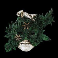 Calla Lilies LTD ED Mask Wall Art Sculpture   2104   D'Argenta
