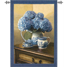 Hydrangea Wall Art | Manual Woodworkers | HWGBLU