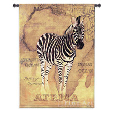 Zebra Tapestry Wall Hanging African Voyage II | Pure Country | PC1600wh
