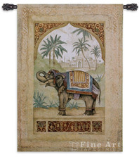 Old World Elephant II Tapestry Wall Hanging | Pure Country | PC1763wh