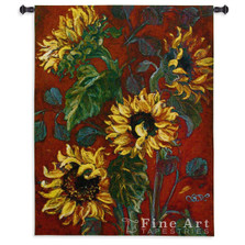 Sunflowers I Tapestry Wall Hanging | Pure Country | pc3425WH