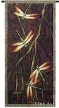 October Song 2 Dragonfly Tapestry Wall Hanging | Pure Country | PC3575wh