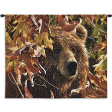 "Bear Tapestry Wall Hanging ""Legend of the Fall"" 