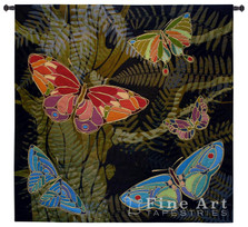 Woodland Butterfly Tapestry Wall Hanging | Pure Country | pc6118wh -2