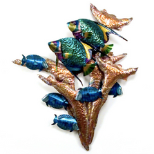 Angelfish Wall Sculpture | TI Design | tiCO103A