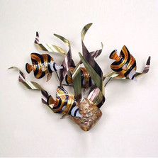 Angelfish Mardi Gras Wall Sculpture | TI Design | tiCO106A