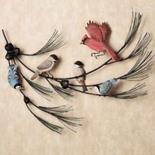 Birds on Branch Wall Sculpture | TI Design | TICW721