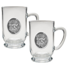 Buffalo Coffee Mug Set of 2 | Heritage Pewter | HPICM206CL