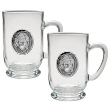 Mountain Lion Coffee Mug Set of 2 | Heritage Pewter | HPICM208CL