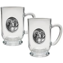 Bighorn Sheep Coffee Mug Set of 2 | Heritage Pewter | HPICM214CL