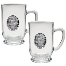 Turkey Coffee Mug Set of 2 | Heritage Pewter | HPICM225CL
