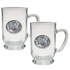 Bobwhite Quail Coffee Mug Set of 2 | Heritage Pewter | HPICM230CL