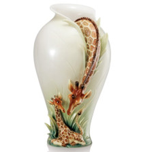 Giraffe Vase Endless Beauty | FZ02038 | Franz Porcelain Collection