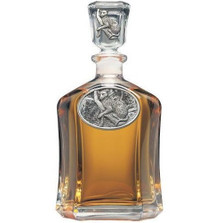Leopard Decanter | Heritage Pewter | HPICPT137