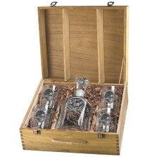 Elk Decanter Set | Heritage Pewter | HPICPTB104