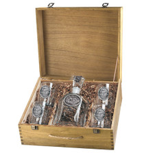Turkey Decanter Set | Heritage Pewter | HPICPTB124