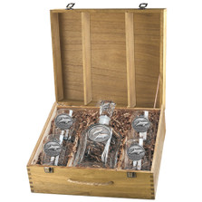 Dolphin Decanter Set | Heritage Pewter | HPICPTB135