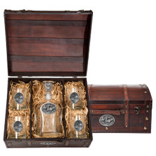 Elk Decanter Chest Set | Heritage Pewter | HPICPTC104