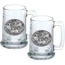 Bighorn Sheep Stein Set of 2 | Heritage Pewter | HPIST117