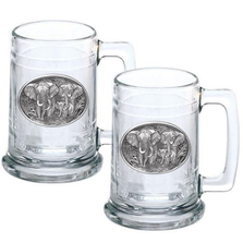 Elephant Stein Set of 2 | Heritage Pewter | HPIST120