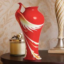 Phoenician Flight Porcelain Large Vase | FZ02108 | Franz Porcelain Collection