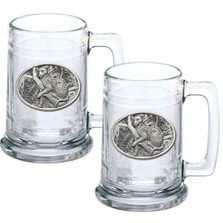 Leopard Stein Set of 2 | Heritage Pewter | HPIST137