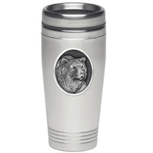 Grizzly Bear Thermal Travel Mug | Heritage Pewter | HPITD201 -2