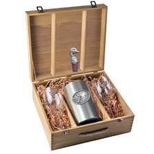 Mallard Wine Set | Heritage Pewter | HPIWSB122