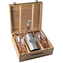Pheasant Wine Set | Heritage Pewter | HPIWSB123