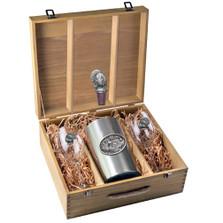 Turkey Wine Set | Heritage Pewter | HPIWSB124