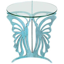 Butterfly Glasstop Table | Cricket Forge | T002