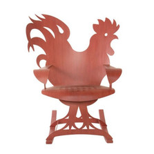 Rooster Rocking Chair | Cricket Forge | C008