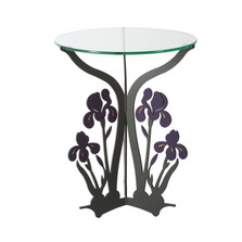 Iris Glass Top Table | Cricket Forge | T021
