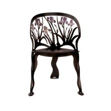 Steel Iris Chair | Cricket Forge | CF263