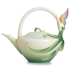 Peace and Harmony Bamboo Teapot | FZ02122 | Franz Porcelain Collection