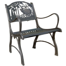 Elk Cast Iron Chair | Painted Sky | PSPC-IEK-200BR