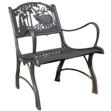 Elk Cast Iron Chair | Painted Sky | PSPC-IEK-200BR