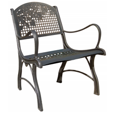 Leaf Cast Iron Chair