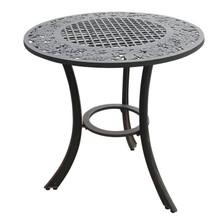 Grape Cluster Design Iron Patio Table | Painted Sky | PSPCT-GP