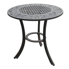 Grape Cluster Design Iron Patio Table | Painted Sky | PSPCT-GP