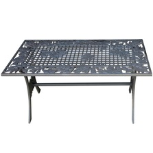 Leaf Iron Coffee Table | Painted Sky | TIC-LV